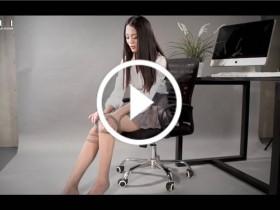 [丽柜视频]2017.11.23 Model 楠楠 女秘书的丝袜玉足