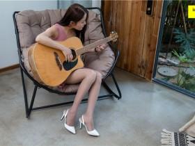 [IESS异思趣向] 2018.09.07 丝享家312:《弹吉他的灰丝少女》婉萍