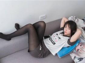 [轻兰映画写真] VOL.012 黑丝清纯小萌妹