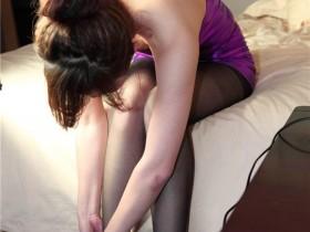 [丝艺影像] NO.007 紫裙魅影 高清原版