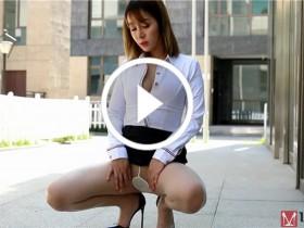 [MISSLEG蜜丝视频] 钻石版 2018.10.26 撕裂的OL 王语纯