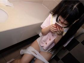 [爱花写真]ALPHA- 012  酒店粉红女孩SM白丝 图套+视频