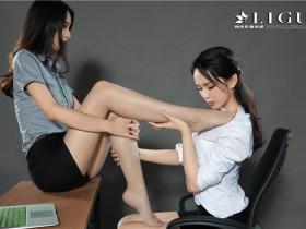 [Ligui丽柜]2018.11.02 Model 雪糕&筱筱