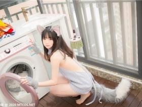 喵糖映画 VOL.274 萌娘的蓝色毛衣