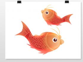 新春新年红鲤鱼年年有余元素