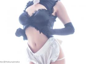 Hokunaimeko NO3 マシュ メイド服ver 图套+视频