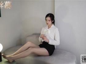 [丝慕写真]特写集 TX089 紫宁《平底鞋女神》