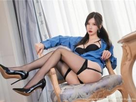 [XiuRen秀人网] 2021.09.06 No.3904 周于希Sandy 魅惑黑丝吊袜