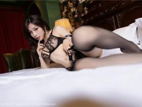 [XiuRen秀人网] 2021.09.02 No.3893 芝芝Booty 魅惑黑色镂空情趣内衣系列