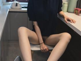 ISS公众号系列 – 美晗 蓝色衬衫 套图+视频