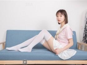 [SSA丝社]超清写真 NO.162 桃子 粉色JK制服的穿搭示范