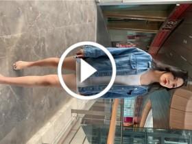 国色精品模拍:T-back都看到了,超性感透明白色包臀裙美女
