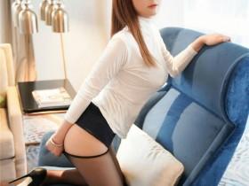 [XiuRen秀人网] 2021.10.14 No.4064 fairy如歌 黑色服饰OL与黑丝美腿