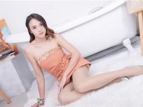 [SSA丝社]超清写真 NO.186 蓉蓉 居家齐臀短裙肉丝穿搭示范