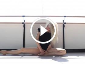 美女性感瑜伽健身视频 No.126