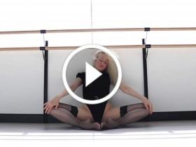 美女性感瑜伽健身视频 No.127
