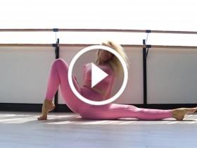 美女性感瑜伽健身视频 No.128